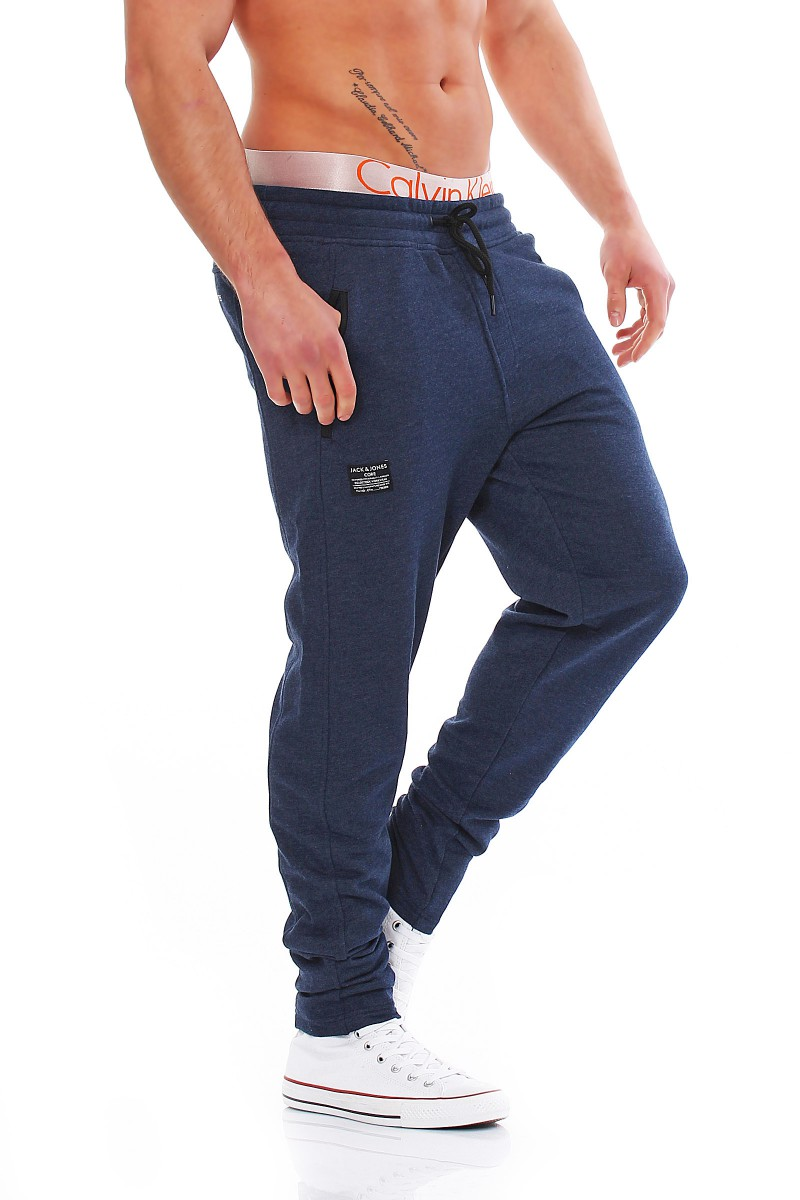 jack jones push up sweat pants core joggers s m l xl xxl tracksuit. Black Bedroom Furniture Sets. Home Design Ideas